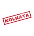 Kolkata Rubber Stamp vector image vector image
