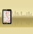 modern taxi service vector image vector image