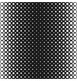 monochrome halftone dot pattern background vector image vector image