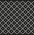 Monochrome seamless pattern with rounded lattice