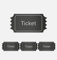 raffle ticket icon vector image
