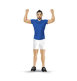 training pose vector image vector image