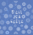 vintage winter christmas banner with lettering vector image vector image