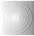 Abstract gray circles with shadow EPS 10 vector image
