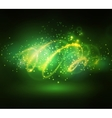 Abstract background with sparks vector image vector image