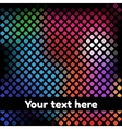 Background with dark mosaic pattern vector image