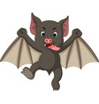 bat cartoon vector image