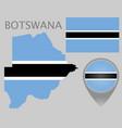 botswana vector image