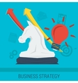 Business concept STRATEGY vector image vector image