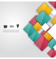color squares Abstract background vector image