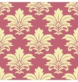 Retro yellow floral seamless pattern vector image vector image