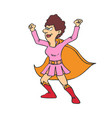 superheroes super mom family vector image