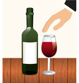 wine concept vector image vector image