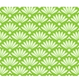 Abstract green seamless pattern vector image