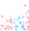 background abstract polygon triangle vector image vector image