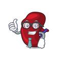 businessman spleen character cartoon style vector image vector image