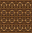 exclusive flower pattern for bantul batik vector image vector image