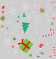 new year christmas winter holidays color seamless vector image vector image