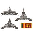 Sri Lanka vector image