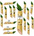 sugarcane cartoon vector image vector image