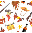 wild west seamless pattern design element can be vector image
