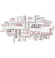 yoga for business people do not get distracted vector image vector image