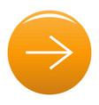 arrow icon orange