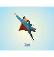 businessman superhero vector image vector image