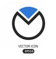 Chart icon vector image