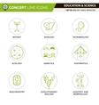 Concept Line Icons Set 2 Biology