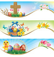 Easter horizontal banners vector | Price: 1 Credit (USD $1)
