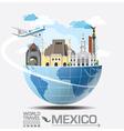 Meico Landmark Global Travel And Journey vector image