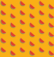 Seamless background with a pattern of juicy ripe vector image vector image