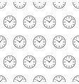 seamless pattern from dial switches clock icon vector image vector image