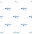 freight aircraft transport and delivery single vector image vector image
