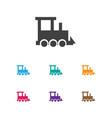 of kid symbol on train icon vector image vector image