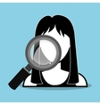 Search and find an employment vector image vector image