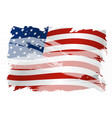 usa background design of american flag vector image vector image