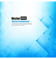 Abstract background light blue with basic geometry vector image vector image