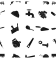 Build and repair pattern icons in black style Big vector image