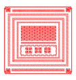 Chinese style border decoration element for design vector image vector image