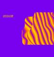 eps 10 colorful wave background digital vector image vector image