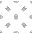 hawaii idol head pattern seamless vector image vector image