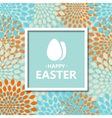 modern Happy Easter background vector image vector image