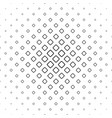 monochrome square pattern background vector image vector image