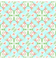 seamless pattern of lilies for fabric wallpaper vector image