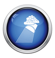 Rainfall like from bucket icon vector image vector image