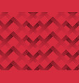 zigzag seamless pattern with gradient red color vector image vector image