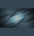 abstract black blue frame sport design concept vector image vector image