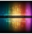 Abstract equalizer background Colorful rainbow